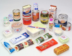 Processed food in China