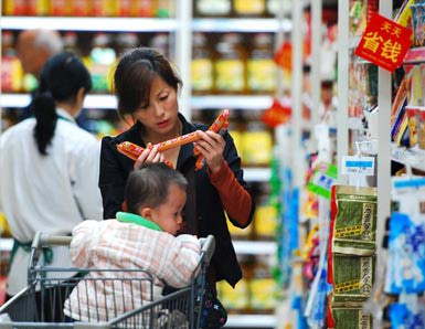 Retail industry in China