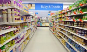 Product launch in the baby food market in China
