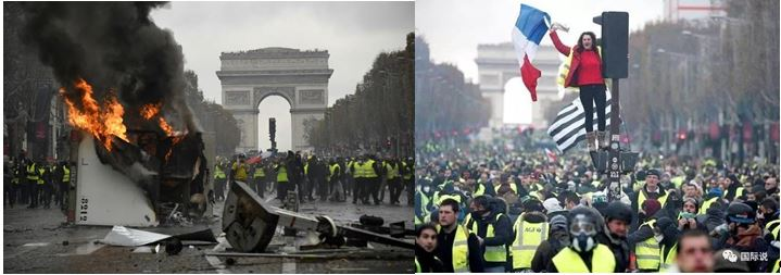 French riots 2018