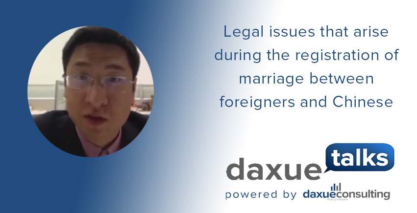 marriage between foreigners and Chinese