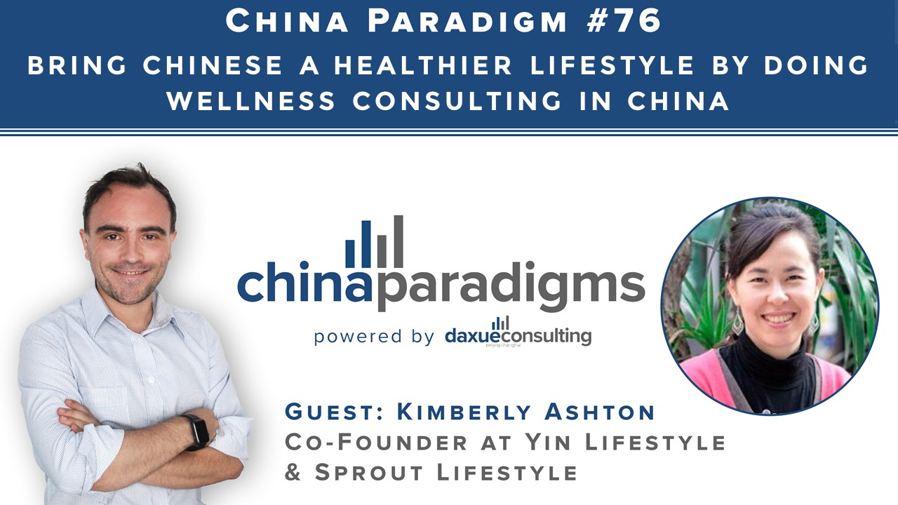 Wellness consulting in China
