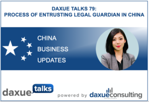 Legal guardian in China