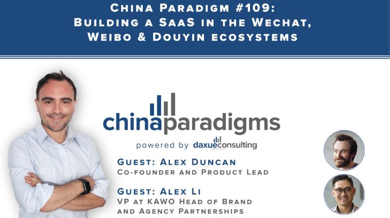building SaaS in China