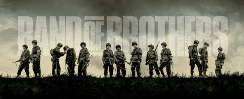 Band of Brothers is the top American war series in China.