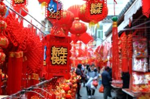 Chinese consumption during the 2021 Spring Festival