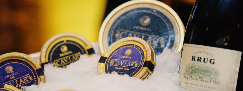 Frosista, caviar product collection