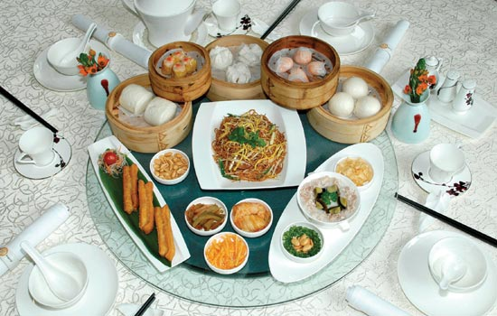 many Chinese people prefer to eat traditional breakfast like noodles, steamed buns, and dim sum over Western breakfast Packaging