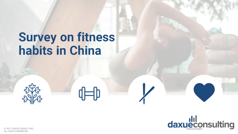 survey on fitness habits in China