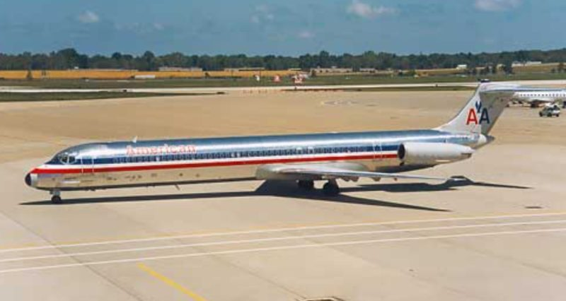 McDonnel Douglas, MD82 air travel in China